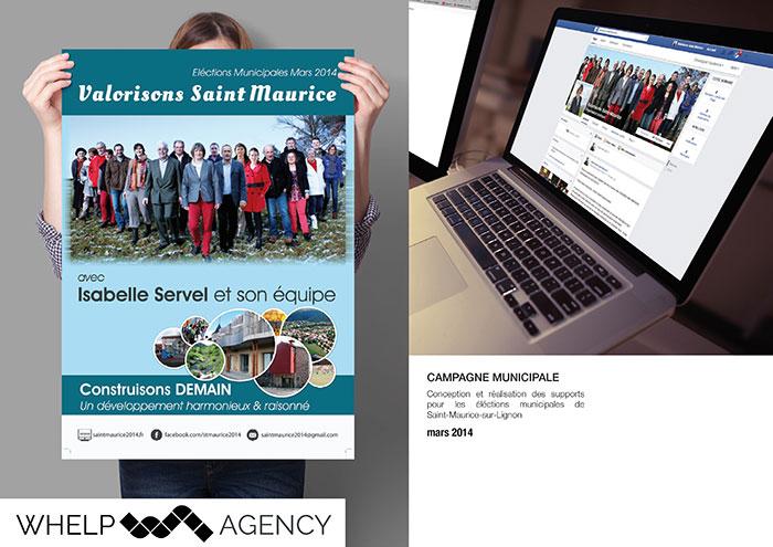Whelp Agency - Campagne municipale Saint-Maurice de Lignon