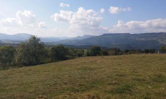 Vue panoramique sur le plateau de la Madeleine
