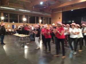 Les passionnés de line dance ont dansé sans relâche