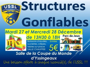 Affiche Structures Gonflables