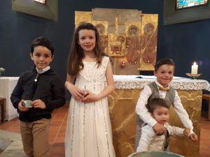 Baptême Aliénor - Tristan - Yolan et Warren