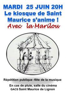 Fête de la musique : Chorale La Marilou