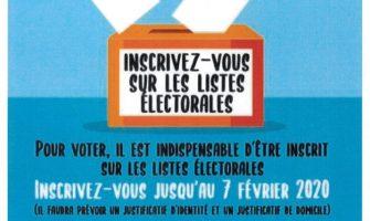 Élections municipales 2020