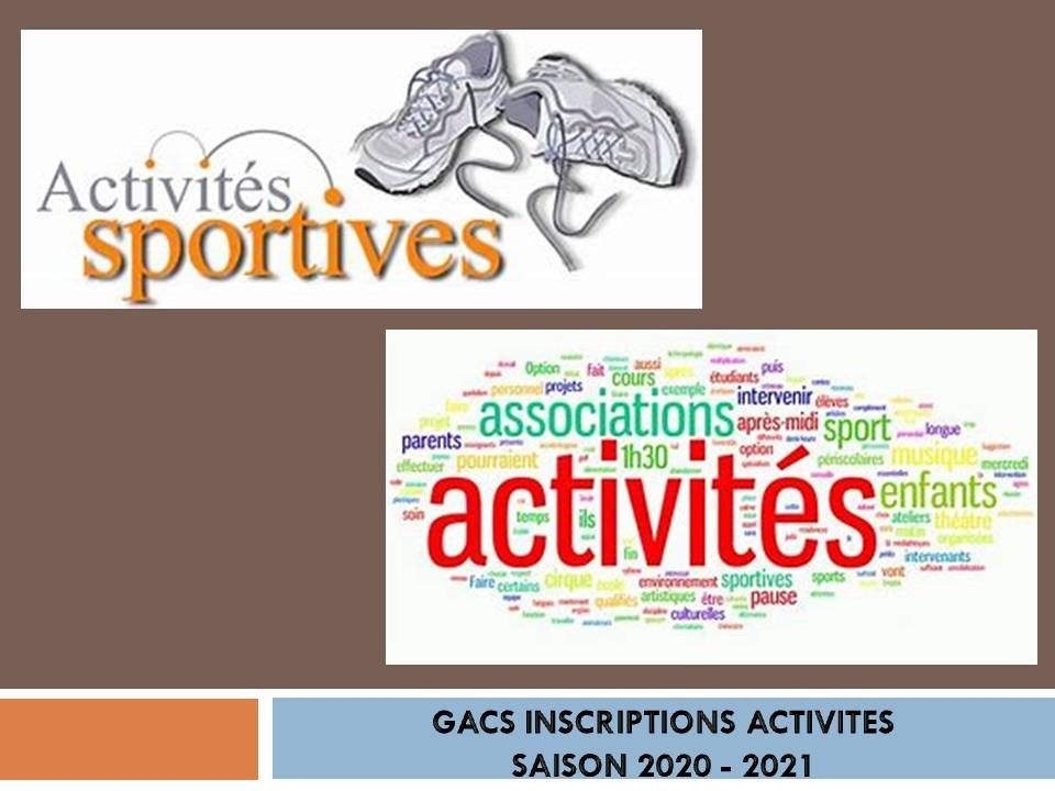 Activités-GACS-Inscriptions-2020-2021